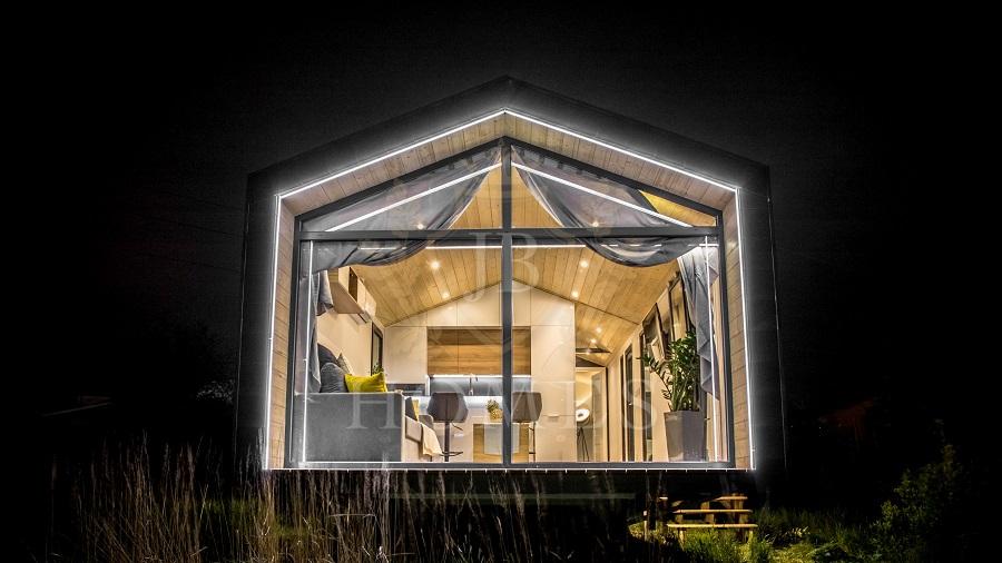 Nowy całoroczny domek mobilny JB Silver Moon